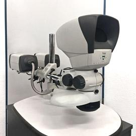 Stereomikroskope werden vor allem im Bereich der Materialforschung und Analyse genutzt.