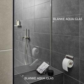 Entdecken Sie unser Wand- und Bodenprofil aus Edelstahl zur Aufnahme von Glastrennwänden – BLANKE AQUA-GLAS.