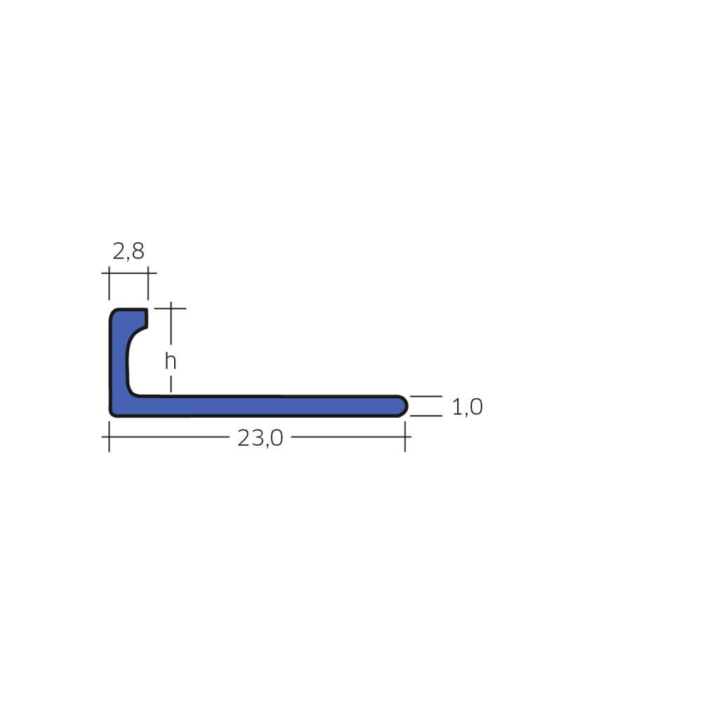 Blanke Fliesen Abschlussschiene Blanke Systems