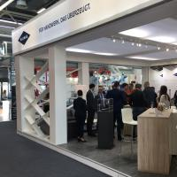 Blanke Systems Messestand Cersaie 2018