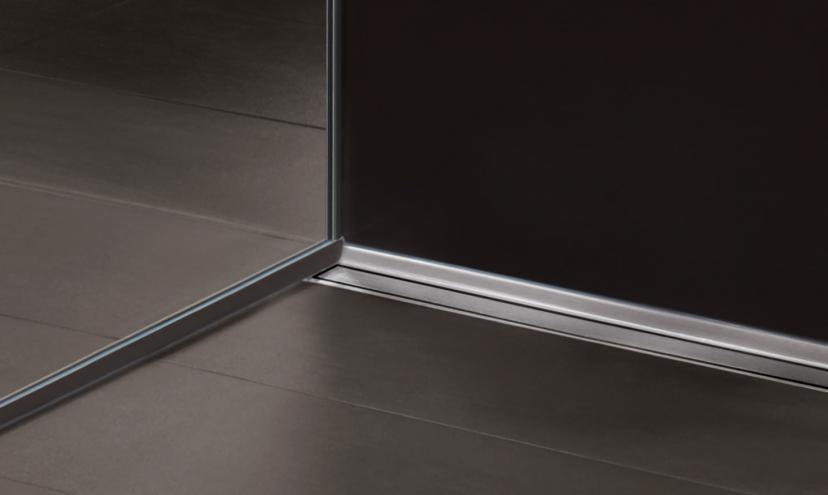 Blanke aqua glas blanke systems - Fliesen schiene ...