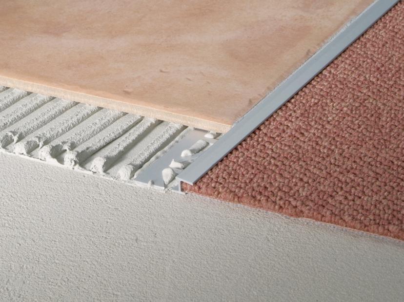Tapijt Laminaat Direct : Blanke tapijt overgangsprofiel blanke systems