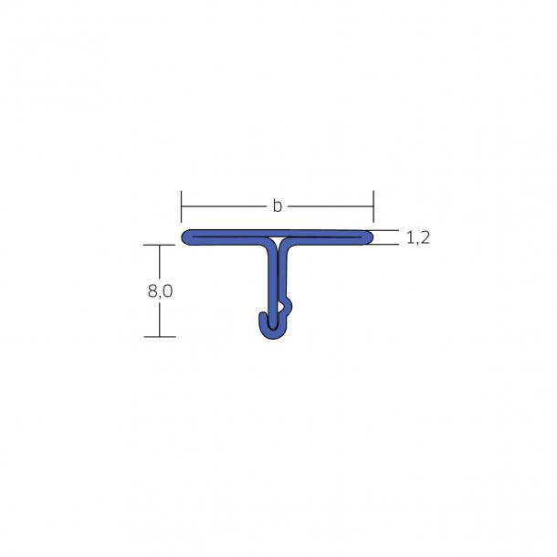 BLANKE COUVRE JOINT (Inox)